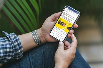 Publicités digitales ciblées