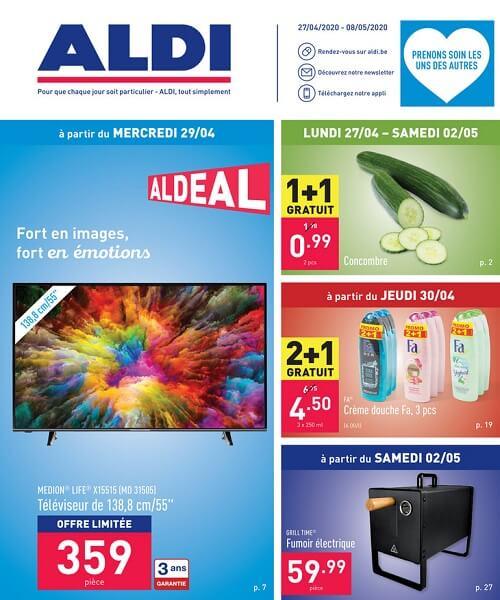 Catalogue promotionnel Aldi pour envoyer du trafic en magasin