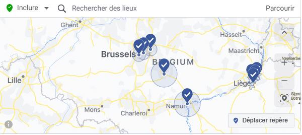 Ciblage géographique Facebook Ads