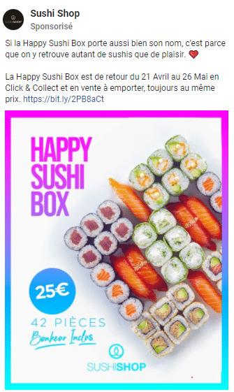 Promo Sushi Shop